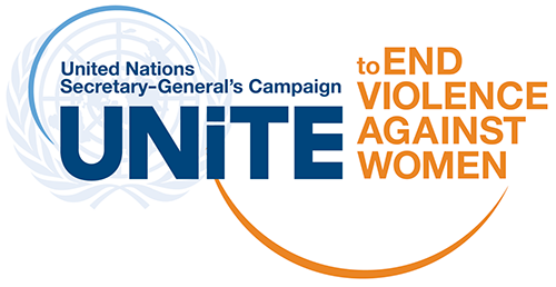Unite to End Violence against Women Logo