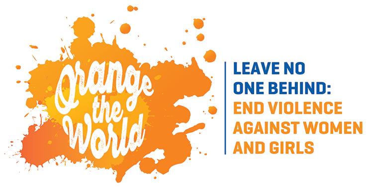 Orange the World Logo